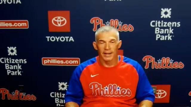 Picture for Philadelphia Phillies   Joe Girardi on Phillies' pitching