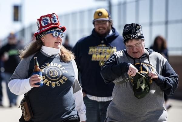 Picture for Brewers Fans Enjoy Thrilling Opening Day