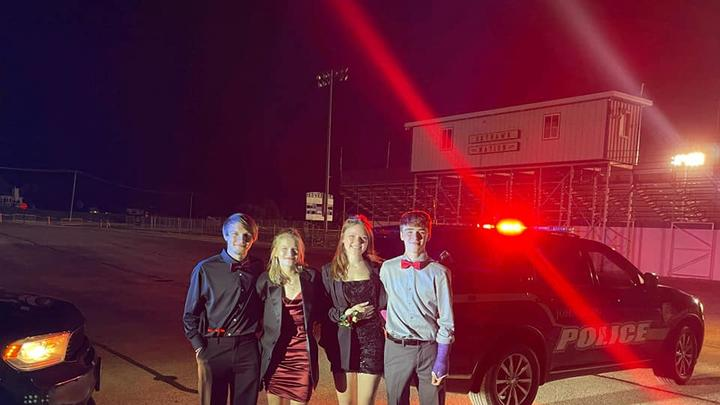 Cover for 'Hometown heroes': 4 high school students on the way to homecoming help after witnessing crash in Fox Lake