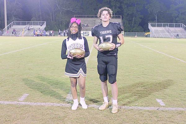 Picture for GMS selects Mr. and Miss Football