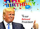 Picture for Happy Birthday, President Trump! Thanks for the Invaluable Lessons in Patriotism.