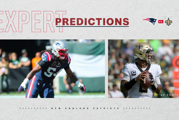 Picture for Expert Predictions: Week 3 picks for Patriots vs. Saints