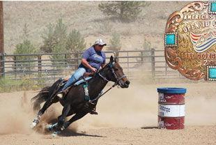 Picture for America's Mountain Barrel Racing season concluded