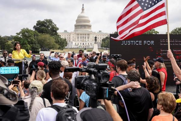Picture for Opinion: What's really behind the 'Justice for J6' rally