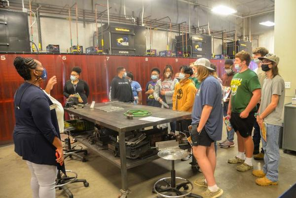 Picture for CHS, LDHS students see possible future in manufacturing