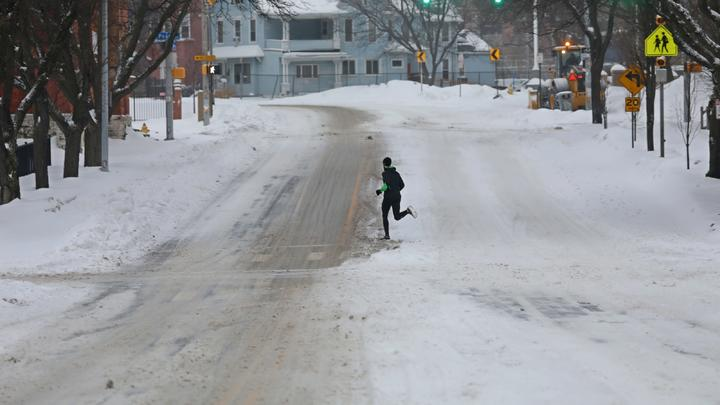 Cover for How much snow will we get this winter? Here's what the Old Farmer's Almanac predicts
