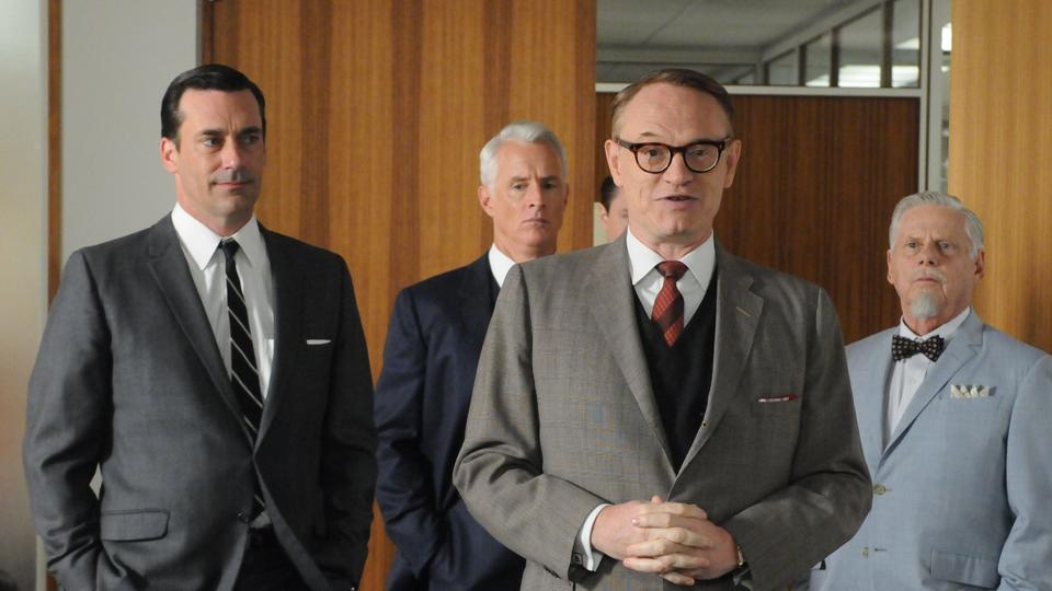 Picture for Jared Harris says 'Mad Men' costar Jon Hamm showed him the importance of 'looking after the other actors' on a show where you're the lead