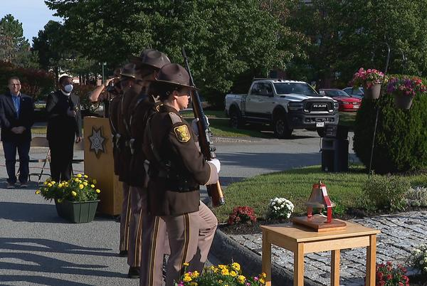 Picture for Cumberland County Sheriff's Office holds remembrance ceremony
