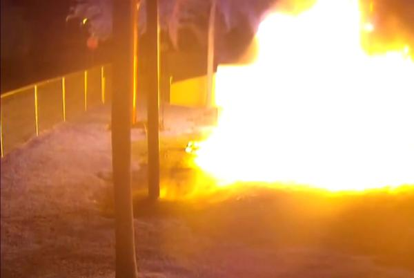 Picture for Arsonist sets preschool playground on fire in Homestead