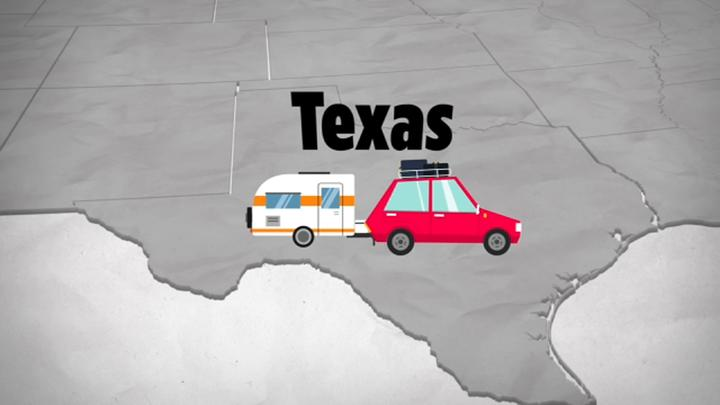 Cover for This Texas county ranks as No. 1 destination for people relocating from California