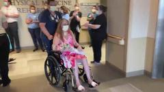 Cover for COVID-19 patient released after 89 days in Iowa hospital