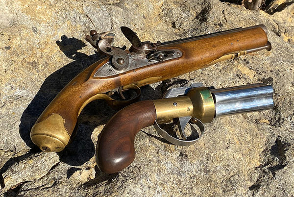 Picture for The Pepperbox Pistol Makes History as the First True Old West Revolver