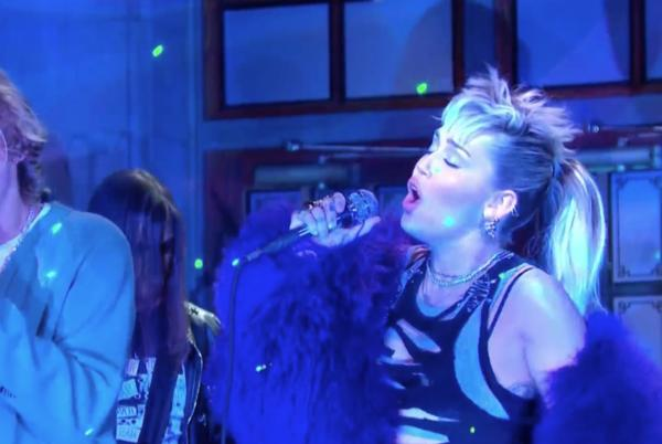 Picture for SNL: Miley Cyrus and The Kid LAROI Perform Their 'Without You' Remix for the First Time