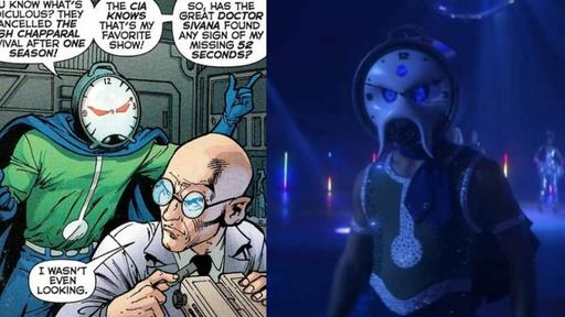 The New Doom Patrol Villain Loves Time Travel And Roller Disco