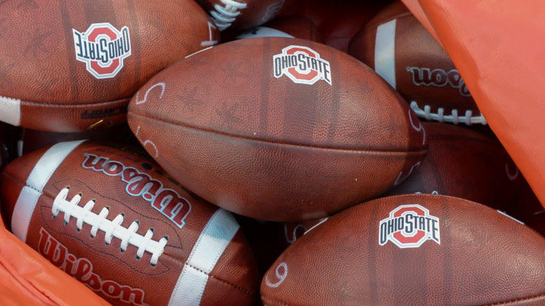 Ohio State Issued A Special Game Ball After Today's Win ...