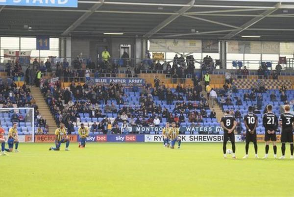 Picture for Shrewsbury Town: Three supporters banned by club amid racist abuse investigation