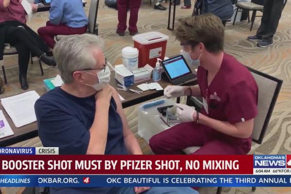 Picture for Officials: 91% of COVID-19 hospitalizations in Oklahoma unvaccinated