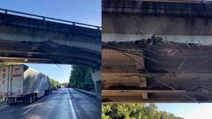 Cover for Kentucky 2692 closed after bridge damaged by excavator