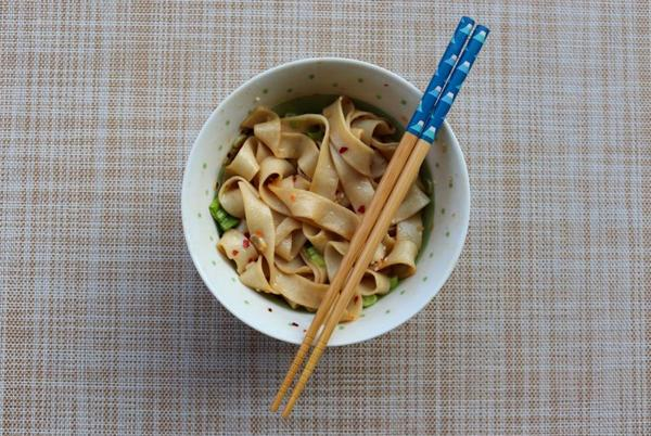 Picture for Sichuan chili oil noodles with a kick