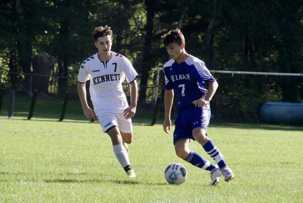 Picture for Pelham soccer player Antonio Furtado adds kick to football team