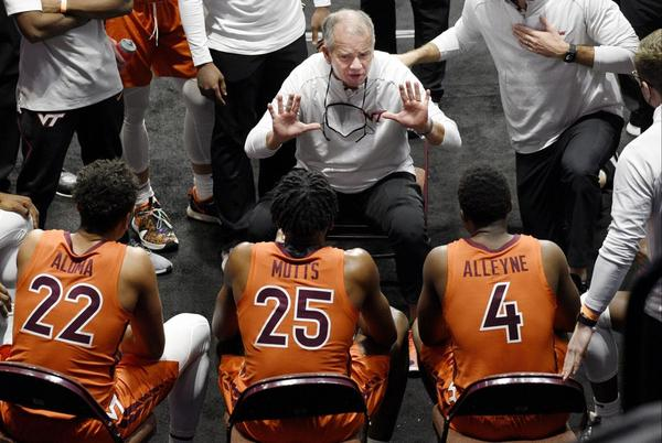 Picture for Mike Young optimistic as Virginia Tech men's basketball practice starts