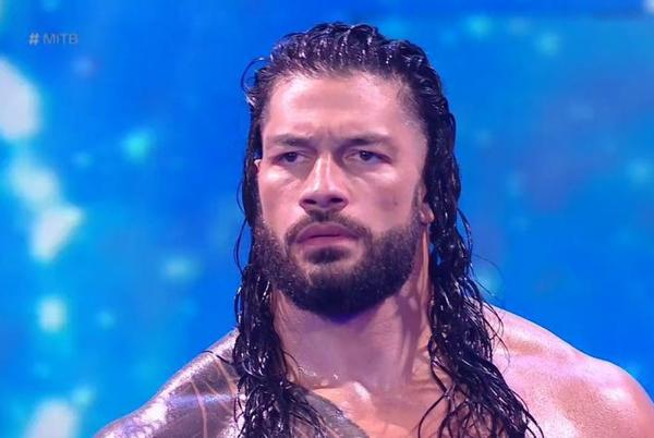 Picture for Smackdown: Roman Reigns celebrates his victory over Brock Lesnar