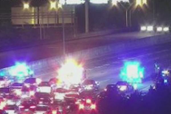 Picture for Multi-vehicle wreck shut down I-85 in Atlanta for hours