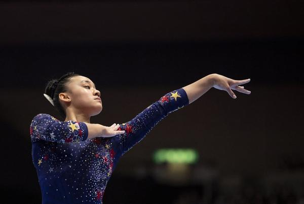 Picture for Watch Leanne Wong's Bronze-Medal Floor Routine at This Year's World Gymnastics Championships