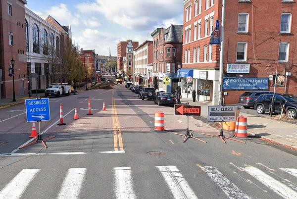 Picture for Strut-Destroying Waterbury Street Closed for Three Weeks