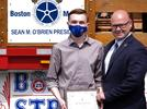 Picture for Teamsters Local 25 awards scholarship to Saugus High School graduate Kenny