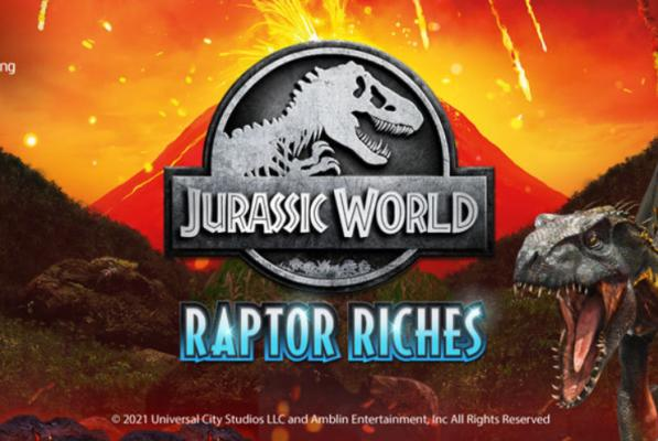 Picture for Microgaming and Fortune Factory Studios presents new Jurassic World: Raptor Riches online slot game