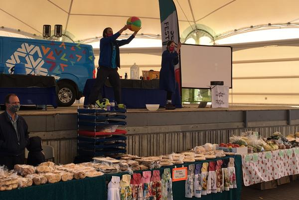 Picture for The Science Festival Kicks Off At The Farmer's Market