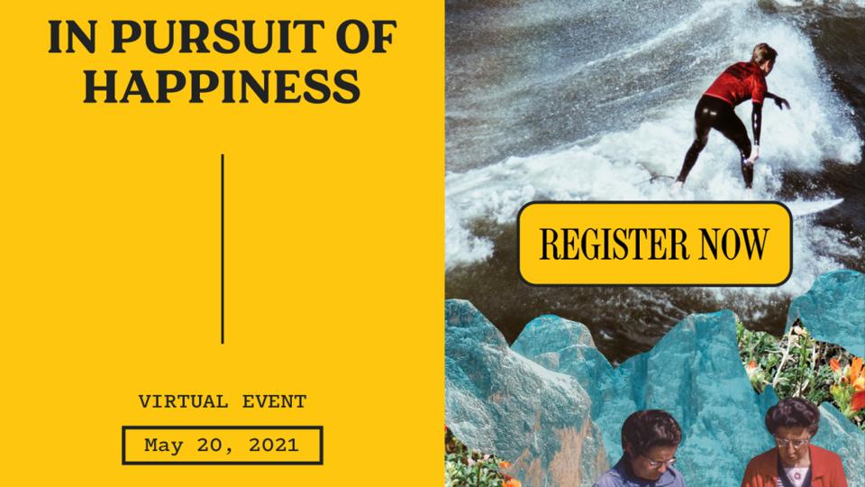 Picture for The Atlantic's In Pursuit of Happiness Event, May 20: With Arthur C. Brooks, Deepak Chopra, Angela Duckworth, and Gretchen Rubin