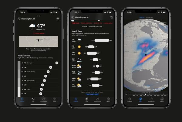 Picture for Dark Sky gets first update since Apple acquisition with new iOS 14 and watchOS 7 features