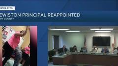 Cover for Clewiston principal who paddled student getting reappointed