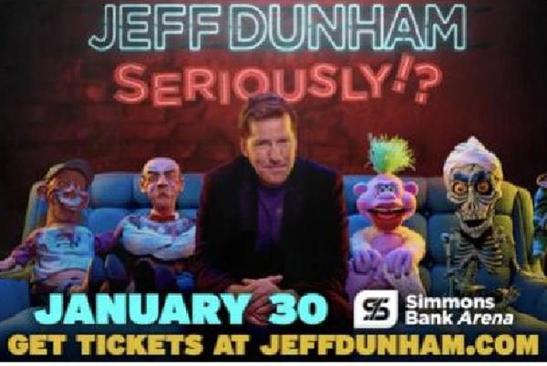 Picture for Seriously? Jeff Dunham coming to Arkansas