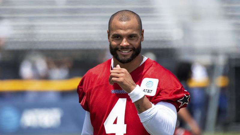 """Picture for Dak Prescott has taken a """"step back"""" in his return from shoulder strain"""