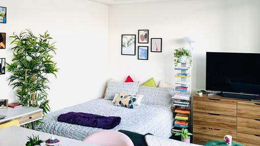 A 350 Square Foot Studio Apartment Uses Vertical Space Wisely News Break