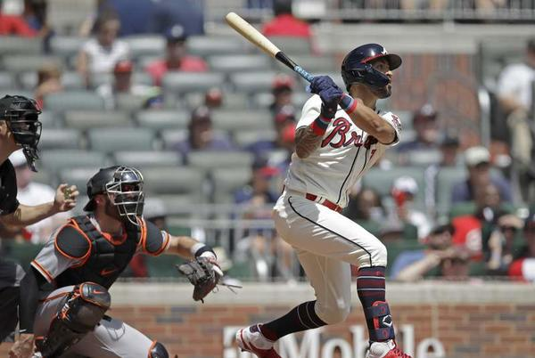 Picture for Soller and Riley return to Anderson in HR, Braves attack Giants
