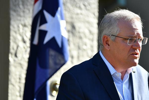 Picture for Coalition gains a point in Newspoll, but Morrison slides back into net negative ratings