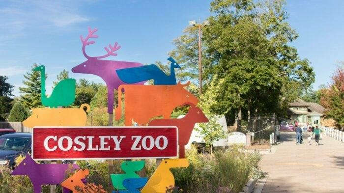 Cover for Cosley Zoo Is A Small Zoo Located On The Property Of A Former 1800s Train Station In Illinois