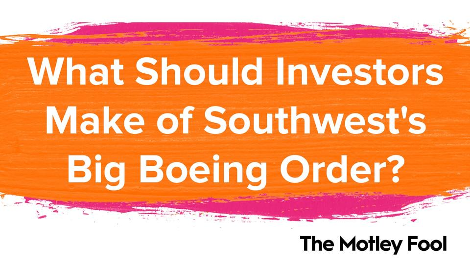 Picture for What Should Investors Make of Southwest's Big Boeing Order?