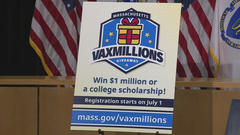 Cover for Massachusetts to hold first 'VaxMillions' drawing for fully vaccinated residents