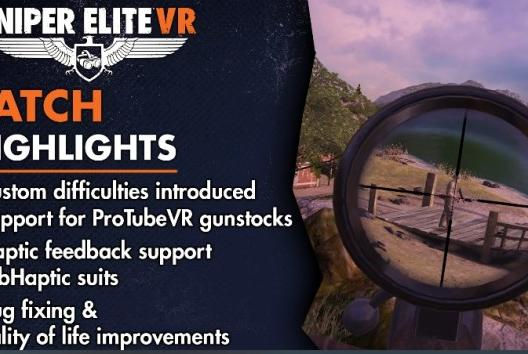Picture for Sniper Elite VR Is Giving You More With The Newest Update…