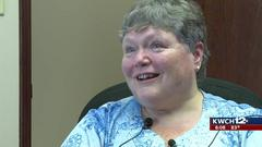 Cover for Wichita woman receives new hearing aids