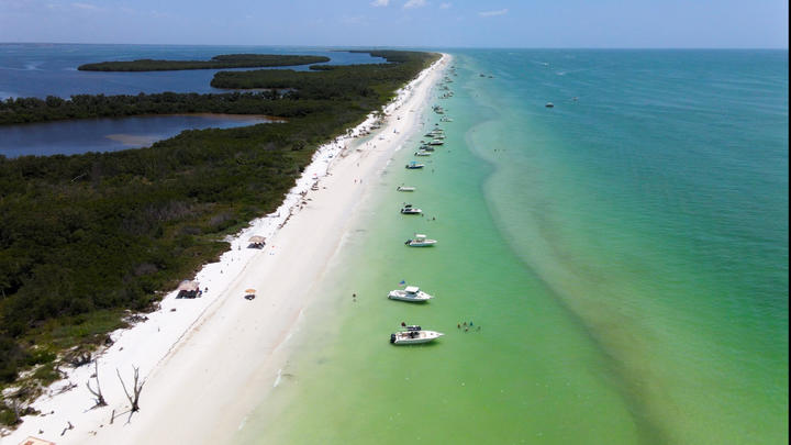 Cover for Anclote Key State Park in Tarpon Springs, Florida