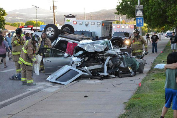 Picture for Southern Utah woman arrested following fatal crash in Richfield that police say was intentional