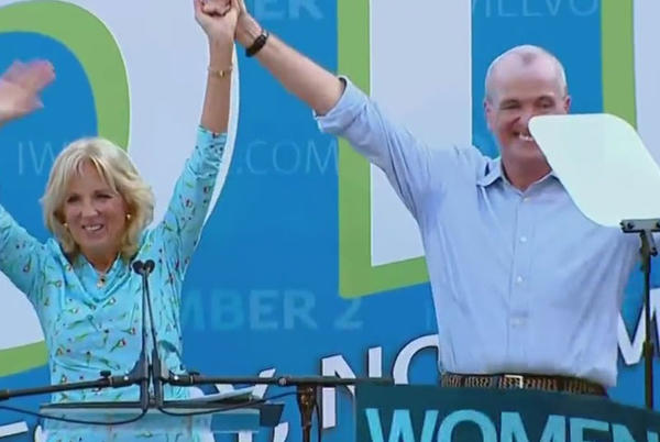 Picture for First Lady Jill Biden Joins New Jersey Gov. Phil Murphy At Campaign Rally; Republican Challenger Jack Cittarelli To Be Joined By GOP National Chair