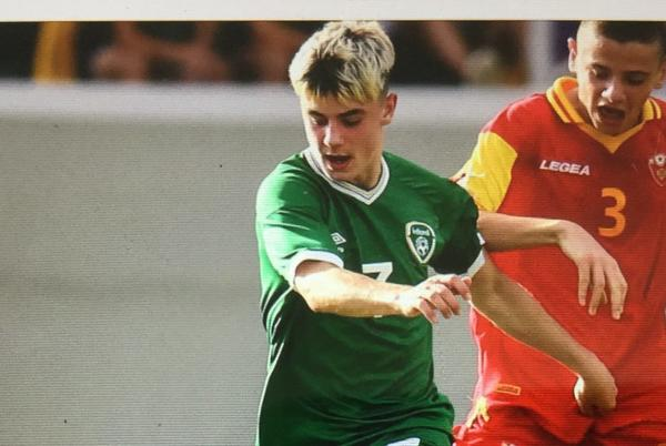Picture for Roscommon player makes international soccer debut