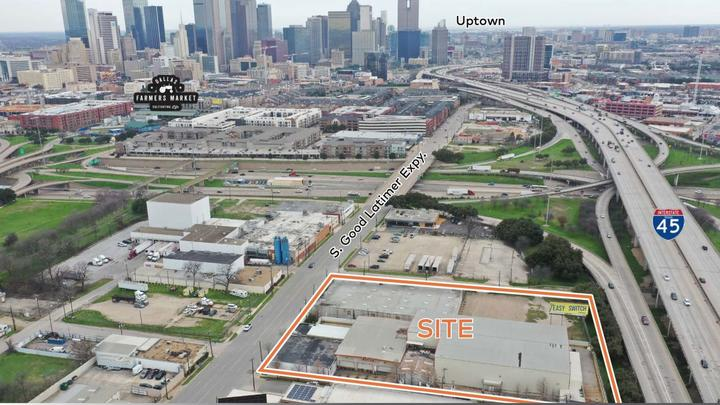 Cover for New apartment development is in the works south of downtown Dallas